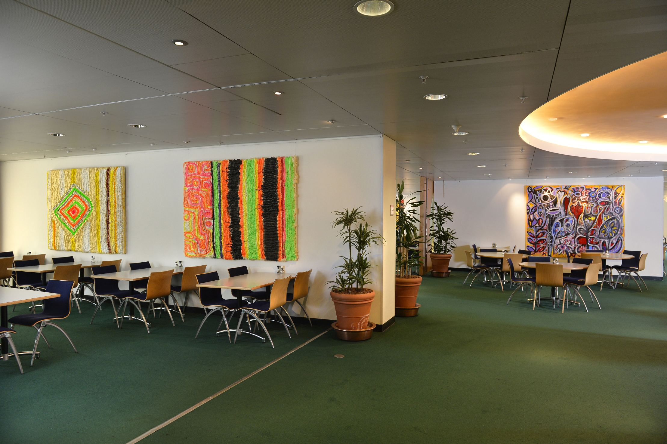 Exhibition at Shell Headquarters, The Hague, The Netherlands