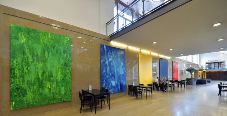 Energy Project at Shell headquarters in the Hague, The Netherlands ...