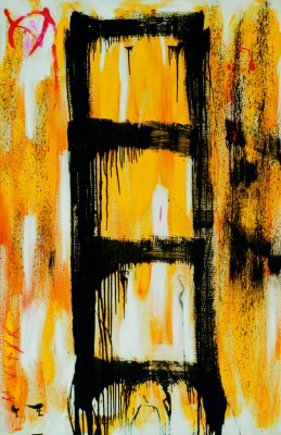 The Stairway to Heaven 1, 2007, acrylic, enamel on canvas, 150x100cm (59x39in)