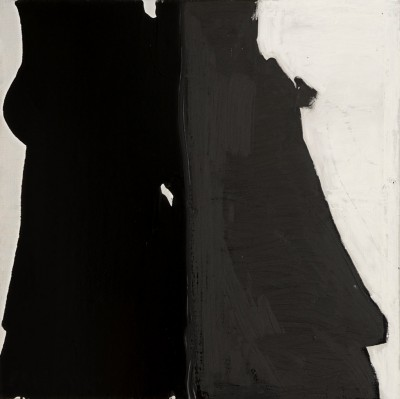 Reunion, 2009, acrylic, oil stick, enamel on canvas, 100x150cm (39x59in)