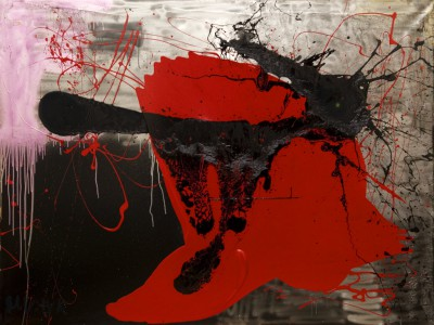 Torro, 2009, acrylic, enamel, spray paint on canvas, 150x200cm (59x78in)