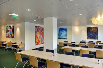 Retrospective Exhibition at Shell Headquarters, The Hague, The Netherlands